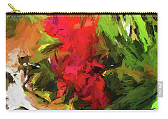 Red Flower On The Branch Carry-all Pouch