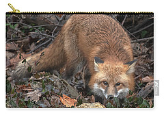 Carry-all Pouch featuring the photograph Red Fox Dmam0050 by Gerry Gantt