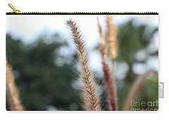Red Grass - Pennisetum Setaceum 'rubrum' Carry-all Pouch