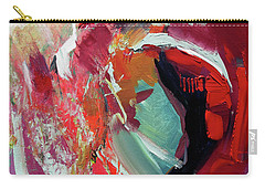 Carry-all Pouch featuring the painting RED by John Jr Gholson