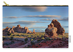 Red Rock Formations Arches National Park  Carry-all Pouch