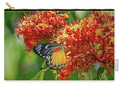 Carry-all Pouch featuring the photograph Red-spot Jezebel Butterfly Dthn0235 by Gerry Gantt