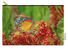 Carry-all Pouch featuring the photograph Red-spot Jezebel Butterfly Dthn0236 by Gerry Gantt