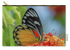 Carry-all Pouch featuring the photograph Red-spot Jezebel Butterfly Dthn0237 by Gerry Gantt