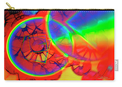 Refracting The Wheel Carry-all Pouch