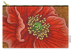 Carry-all Pouch featuring the painting Regal Beauty by Amy E Fraser