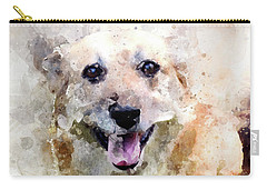 Remember The Four-legged Smile Carry-all Pouch