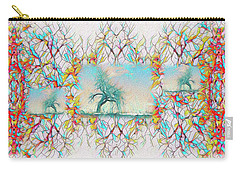 Carry-all Pouch featuring the digital art Repetition by Mike Braun