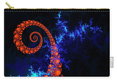 Carry-all Pouch featuring the digital art Resurrection by Edmund Nagele