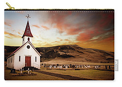 Reyniskirkja Lutheran Church In Iceland Carry-all Pouch
