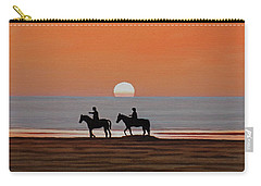 Riding Sunset Beach Carry-all Pouch