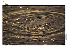 Carry-all Pouch featuring the photograph Ripple by Buddy Scott