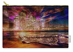 Rising Tide On The Hudson Montage Carry-all Pouch
