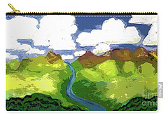 River To Sky Carry-all Pouch