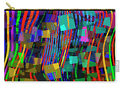 Carry-all Pouch featuring the digital art Rivers Of Babylon by Edmund Nagele