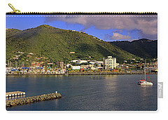Carry-all Pouch featuring the photograph Road Harbour by Tony Murtagh