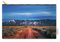 Road To Sangre De Cristo Mountain Range Carry-all Pouch