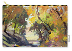 Carry-all Pouch featuring the painting Roadside Attraction by Steve Henderson