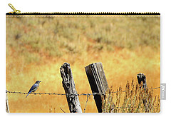Rocky Mountain Blue Bird Carry-all Pouch