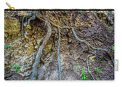 Carry-all Pouch featuring the photograph Root System by Jon Burch Photography