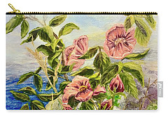 Rosa By The Sea Carry-all Pouch