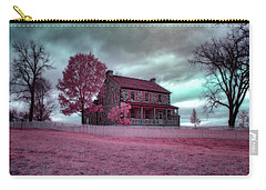Rose Farm In Infrared Carry-all Pouch