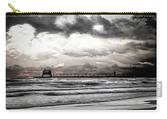 Rose Gold Sunset Grand Haven Michigan Carry-all Pouch