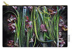 Rosy Leeks Carry-all Pouch