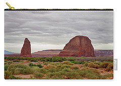 Carry-all Pouch featuring the photograph Round Rock by James BO Insogna