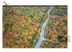 Carry-all Pouch featuring the photograph Route 42 Aerial by Adam Romanowicz