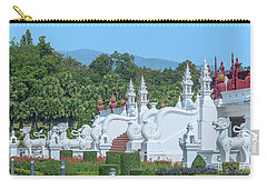 Royal Park Rajapruek Grand Pavilion Stairway Guardians Dthcm2607 Carry-all Pouch