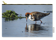 Carry-all Pouch featuring the photograph Ruff 40407 by Rick Veldman