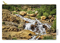 Carry-all Pouch featuring the photograph Runoff by Jon Burch Photography