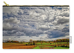 Carry-all Pouch featuring the photograph Rural New Paltz Hudson Valley Ny by Susan Candelario