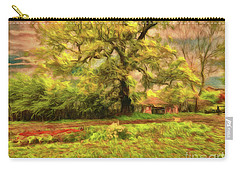 Carry-all Pouch featuring the photograph Rural Rustic by Leigh Kemp