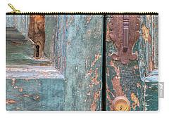 Rustic Green Door Of Cortona Carry-all Pouch