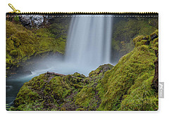 Carry-all Pouch featuring the photograph Sahalie Falls, Autumn by Matthew Irvin
