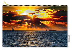 Sailboat Sunburst Carry-all Pouch