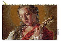 Saint Cecelia Mosaic Carry-all Pouch
