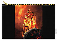 Carry-all Pouch featuring the photograph Saint Michael by Michael Arend