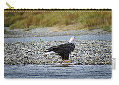 Salmon For Supper Carry-all Pouch