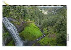 Carry-all Pouch featuring the photograph Salt Creek Falls And Gorge by Matthew Irvin
