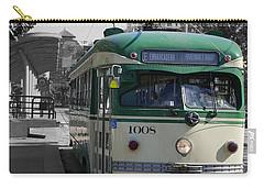 San Francisco - The E Line Car 1008 Carry-all Pouch