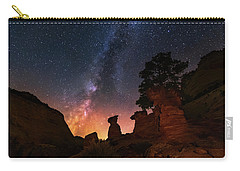 Carry-all Pouch featuring the photograph Sanctuary by Tassanee Angiolillo