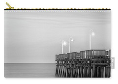 Carry-all Pouch featuring the photograph Sandbridge Minimalist by Russell Pugh
