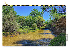 Carry-all Pouch featuring the photograph Sandhills Summer by Dan Miller