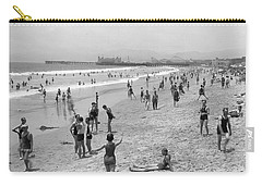 Santa Monica Beach Circa 1920 Carry-all Pouch