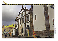 Carry-all Pouch featuring the photograph Sao Sebastiao by Tony Murtagh