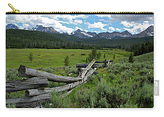Sawtooth Range And 1975 Pole Fence Carry-all Pouch
