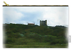 Scarborough Castle Painting Carry-all Pouch